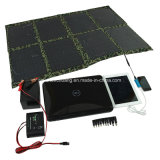 5W-150W Cargador solar plegable, Solar Power Bank, paneles solares portátiles USB para iPhone, iPad, cámara, Notebook, USB
