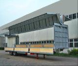 CIMC 30-40 toneladas Fechado Van Semi-Trailer, semi reboque cimc