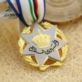 Medaglia su ordinazione all'ingrosso del premio dei militari dell'argento e dell'oro
