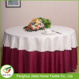 Feito em China Round Wedding Decoration Table Cloth