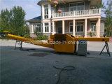 800kg máquina de rasgado de la salida dos del trapo eléctrico cada hora del transportador