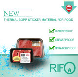 Thermische empfindliche Oberflächenbeschichtung BOPP mit FDA BPA geben Bescheinigung frei