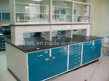 2015 Nouvelle école de design de la table de laboratoire de chimie de l'acier