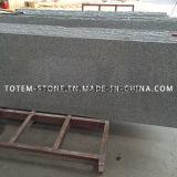 Granito natural pulido gris G603 Piedra del granito para el pavimento, Countertop