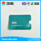 Suporte de cartão de crédito de bloqueio de RFID de plástico rígido ABS ABS