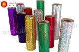 Pellicola di rullo di calore dell'ologramma del Rainbow, formato su ordinazione & spessore (AFTP-H)