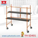Construction Mobile utilisé l'échelle d'échafaudage en aluminium
