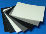 Лист формы ЕВА для багажа делая и пакуя в черноте