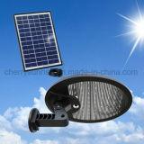 Le mur extérieur actionné solaire de vente chaude allume les lumières fixées au mur actionnées solaires extérieures de détecteur de mouvement de PIR à vendre