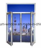Stoffa per tendine/finestra di alluminio di vetro Basse-e balcone dell'oscillazione