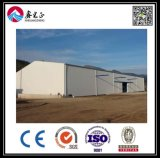 Atelier de structure métallique de modèle de construction (BYSS011901)