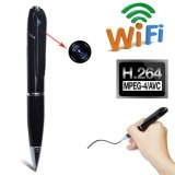 WiFi Video Wireless Pen Camera 720p HD Monitoramento de segurança Áudio Vídeo Streaming