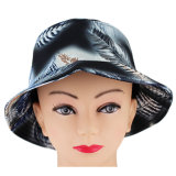 カスタム葉の印刷のブランクのタイの染料はバケツの帽子を遊ばす