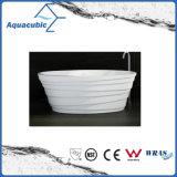 Banheiro de banheira de acrílico independente de pérolas (AB1527W)