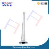 Échafaudage, système d'échafaudage de l'échafaudage 48.3*3.25mm