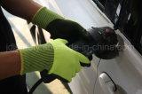 Отрежьте упорную перчатку работы с нитрилом Sandy (ND8061)