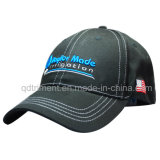 Fashion konstruierten Segeltuch Stickerei Sport Golf Cap ( TR075 )