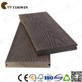 Decking ao ar livre do assoalho de madeira composto plástico de madeira WPC (TW-K03)