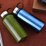Il doppio mura la bottiglia del liquido della bottiglia di acqua dell'acciaio inossidabile