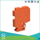 Connecteur en plastique orange de longeron de la cosse d'Utl Unversal 2.5mm2 DIN