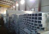 Tubo de acero rectangular para la construcción
