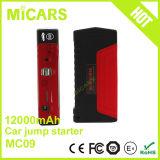 Dispositivo d'avviamento portatile di salto della batteria Emergency di capienza 12000mAh mini