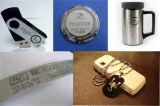 Машина маркировки лазера волокна для металла и Markin на кольце