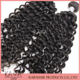 Indian hair extension Afro Tissage de cheveux bouclés (KF-41)