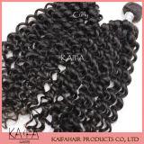 インドに毛の拡張アフリカのカーリーヘアーの編むこと(KF-41)