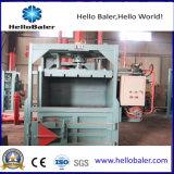 Machine verticale de presse de plastique et de papier de rebut pour l'hors-d'oeuvres neuf