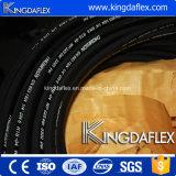 Mangueira de borracha hidráulica de alta pressão trançada do fio de aço de Sar100 R1at/R2at