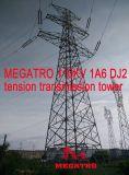 Torretta della trasmissione di tensionamento di Megatro 110kv 1A6 DJ2