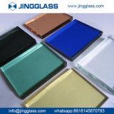 Prix Tempered plat en verre de porte de guichet de verre feuilleté de la coutume 5mm-22mm PVB
