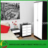 새로운 디자인 판매를 위한 침실 가구의 흑백 색깔 침실 세트
