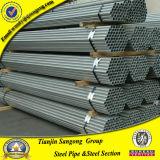 Negro Od38 y tubo de acero y tubo galvanizados