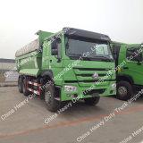 베스트셀러 두 배 차축 트럭 Sino 트럭 쓰레기꾼 가격 지부티