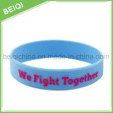 Braccialetti di gomma dei Wristbands del silicone per i regali promozionali