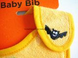 Soem-Erzeugnis passte Entwurf gestickten Baumwollterry-Karikatur-Halloween-Baby-Zufuhr-Schellfisch an
