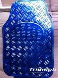 Tapetes de 3D moldado EVA Aluguer de carro de borracha Tapete do tapete do piso