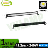 240W 42.2inch IP67 Selbstarbeits-Lampe Epistar LED heller Stab