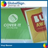Il doppio ha parteggiato pubblicità stampata Digitahi progetta la bandiera per il cliente del vinile