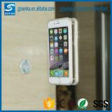 Caja transparente antigravedad de la caja del teléfono de la Navidad para el iPhone 5/5s