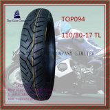 Zonder binnenband, Super Kwaliteit, Band Met lange levensuur van de Motorfiets van ISO de Nylon 6pr met Grootte: 110/80-17tl