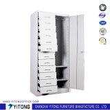 gabinete de armazenamento do metal de 1-Door 12-Drawer/gabinete de arquivo de aço uso do escritório