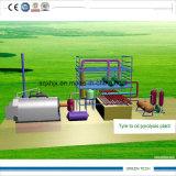 Mini máquina de la pirolisis de 2-3 toneladas para el neumático y la basura plástica y aceitosa