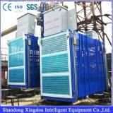 Cer genehmigte Aufbau-Hebevorrichtung-Aufzug mit doppeltem Rahmen