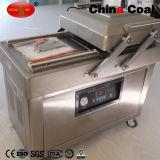 Embalador doble del vacío del compartimiento de Dz600/2c para el alimento