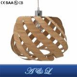 Lâmpada de bambu artística do pendente para a sala de jantar