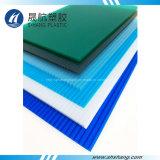 placa coloreada 4mm~10m m de la depresión del policarbonato con la protección ULTRAVIOLETA