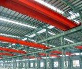 Покрашенное здание мастерской структуры стальное светлое полуфабрикат